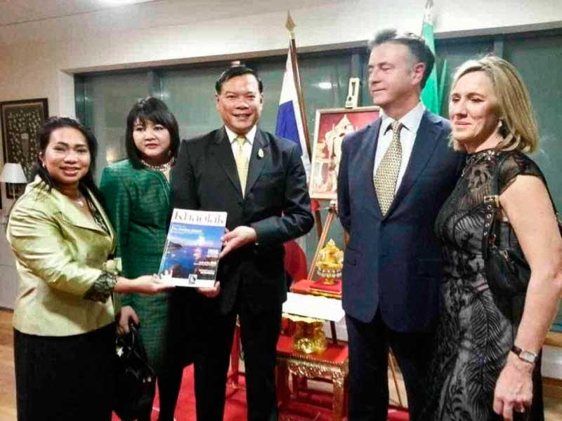 Appointment of Mr. Connolly as hon.Thai Consul