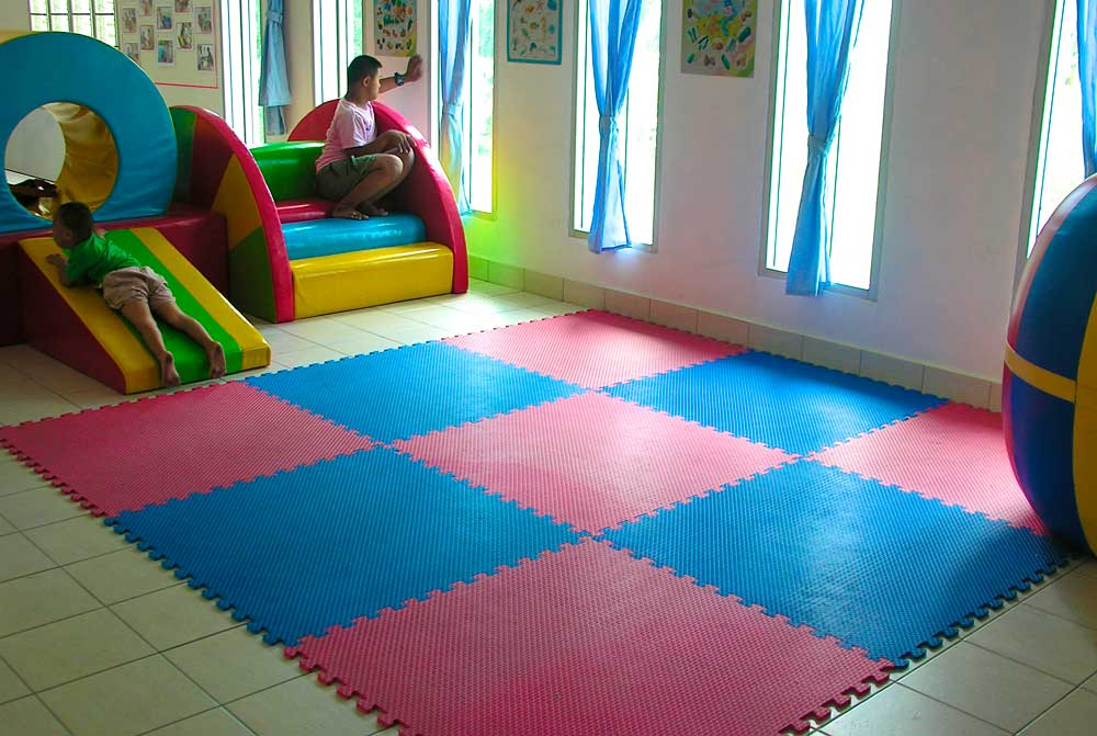 Play area at the Camillian Centre