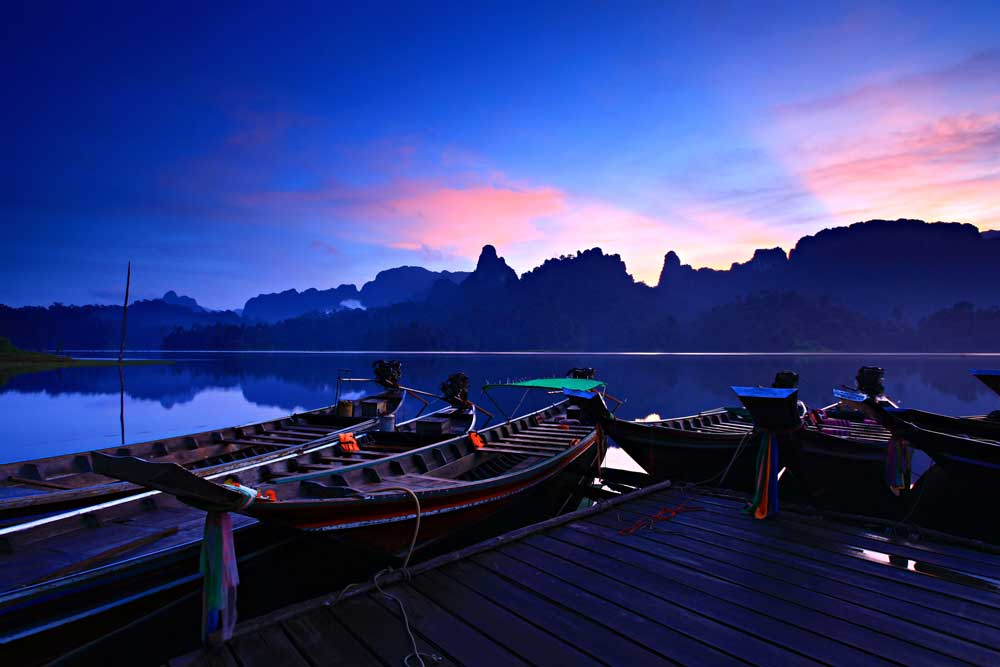 Dusk at Khao Sok