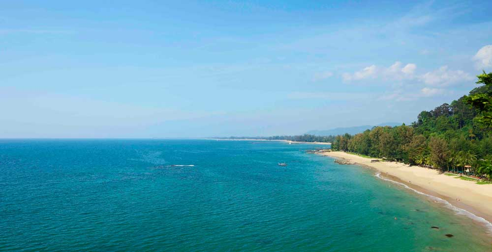 The main Khao Lak Beach