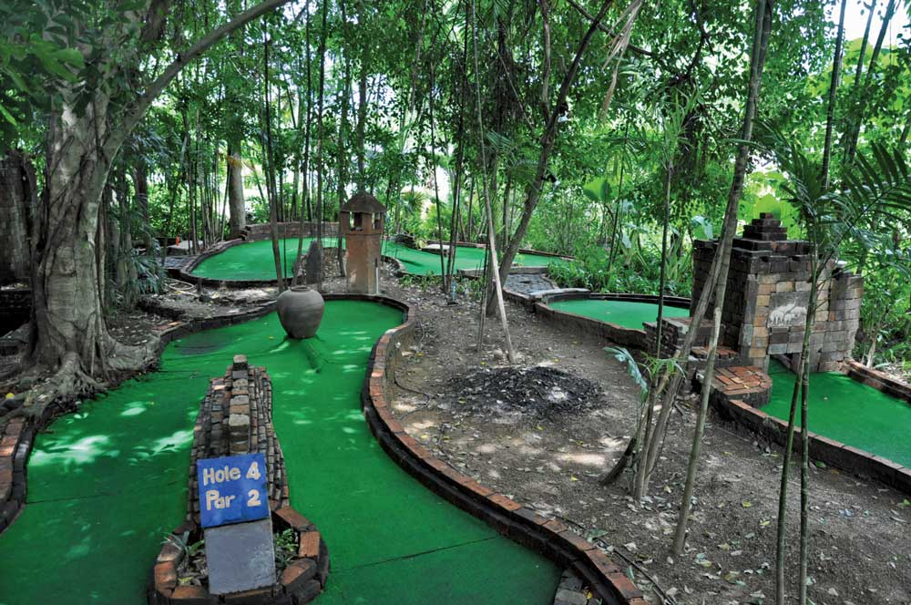 Mini golf in Khao Lak