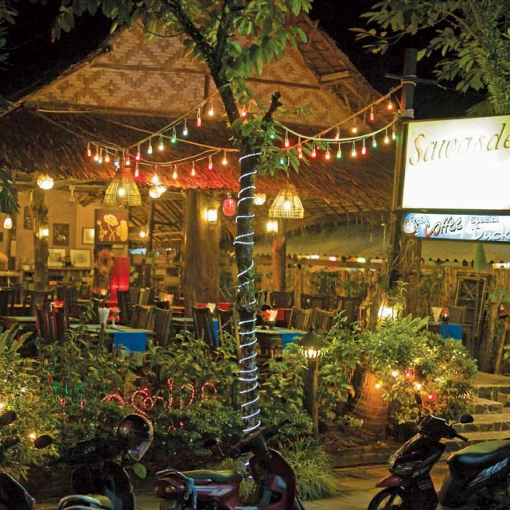 Sawasdee Restaurant on Food Street Khao Lak