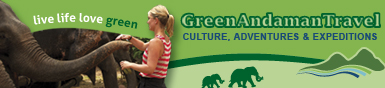 Green Andaman Travel Banner Ad