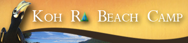Koh Ra Beach Camp Banner Ad