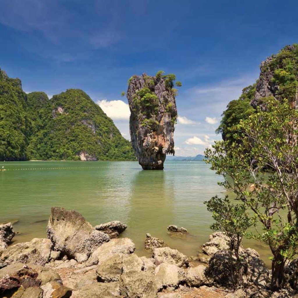 Koh Tapu or James bond Island