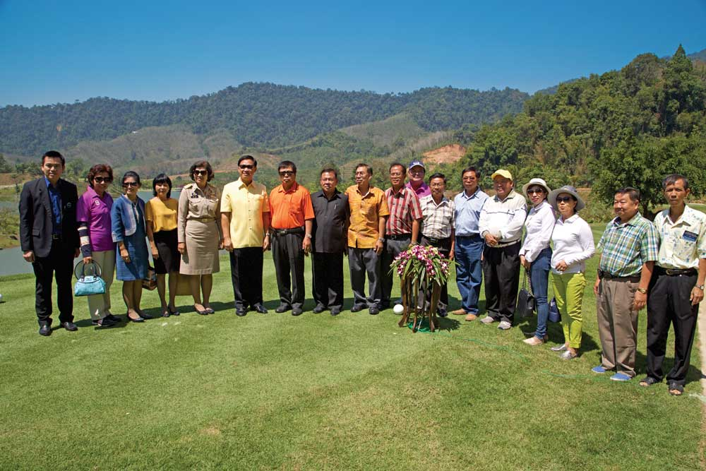 VIP guests at Kata Thong